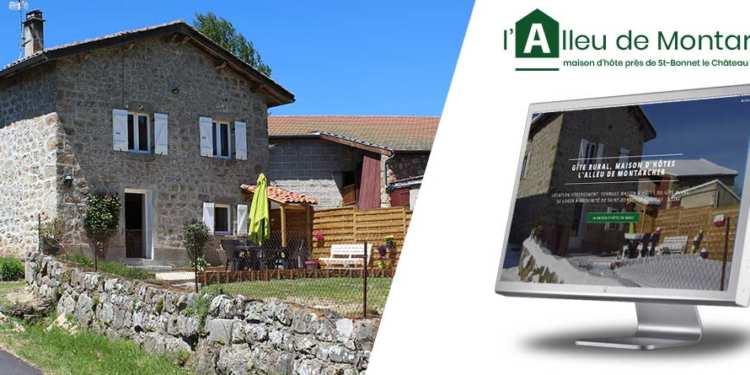 Alleu-montarcher.fr, un site vitrine pour informer et prendre contact